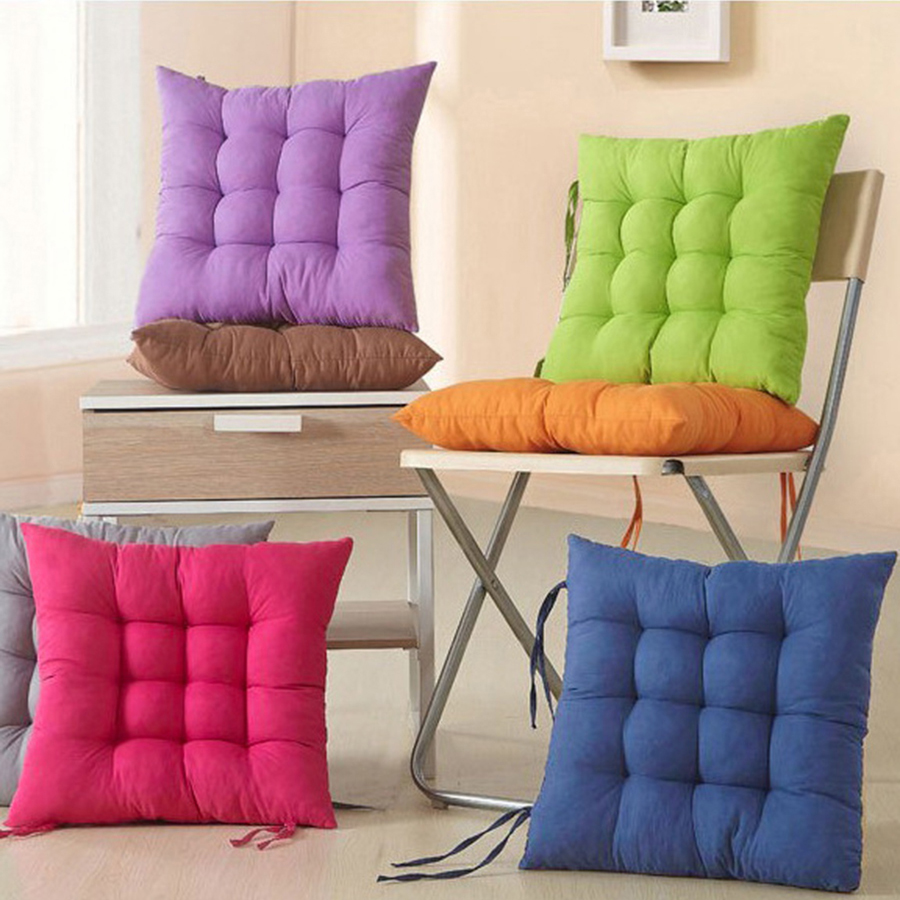 Floor Cushion Seat Office Home Pillow Travel Padding Chair