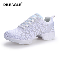 WOMAN Jazz Dance Shoes Fitness Breathable Teachers Latin Salsa Jazz Modern Girls Dancing Sneakers Ladies Aerobics