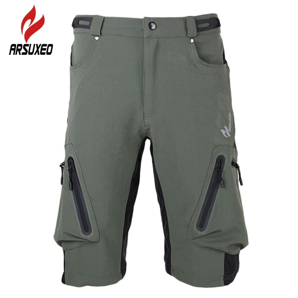 ARSUXEO Men's Downhill MTB ⃝ BMX BMX Shorts Breathable ...