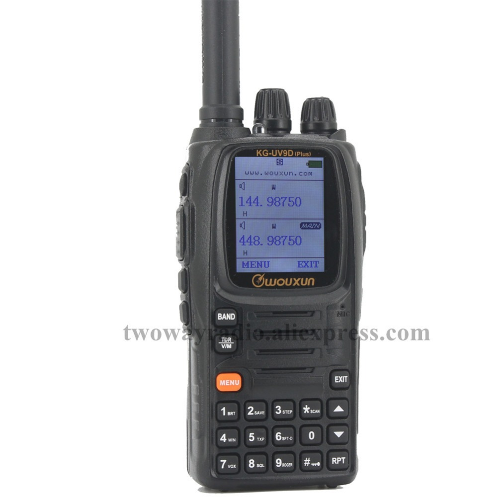 Wouxun KG-UV9D (Plus) Fascia Aria Ricevere Dual Band Ham Radio Walkie Talkie