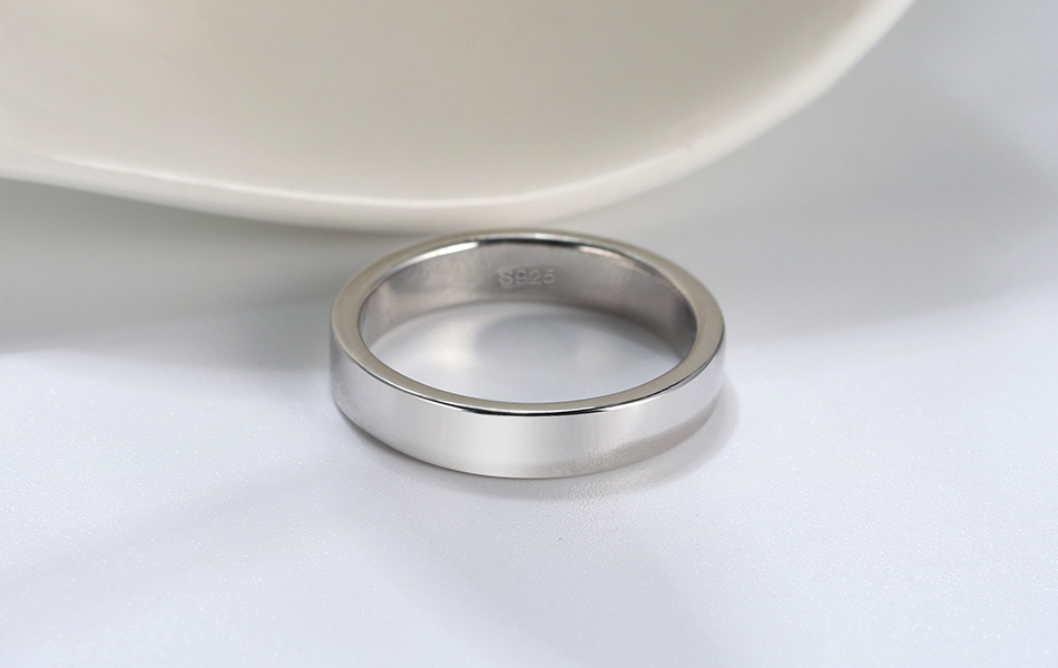 HTB1jINAKuSSBuNjy0Flq6zBpVXar ORSA JEWELS Real 925 Sterling Silver Female Rings Classic Round Shape Simple Style Anniversary Wedding Ring Fashion Jewelry SR73