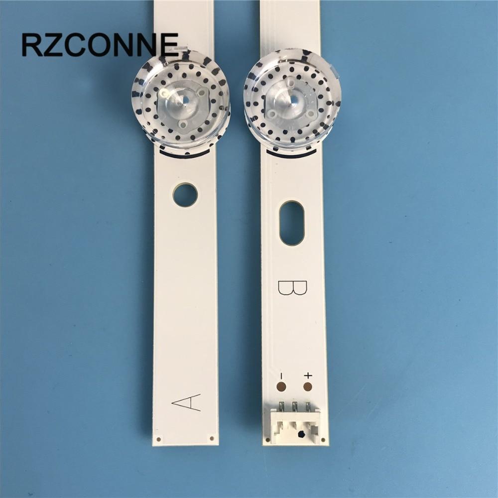 2pcs LED Strip For LG 40 DRT4.0 REV0 7 A+B-Type SVL400 6916L-0884A 6916L-0885A 40LF630V 40LX560H 40LH5300 40LH5700 40LF570V