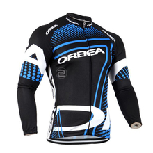 ФОТО new team orbea cycling jersey 2017 long sleeves road bike shirts breathable pro cycling clothing mtb maillot ropa ciclismo g1803