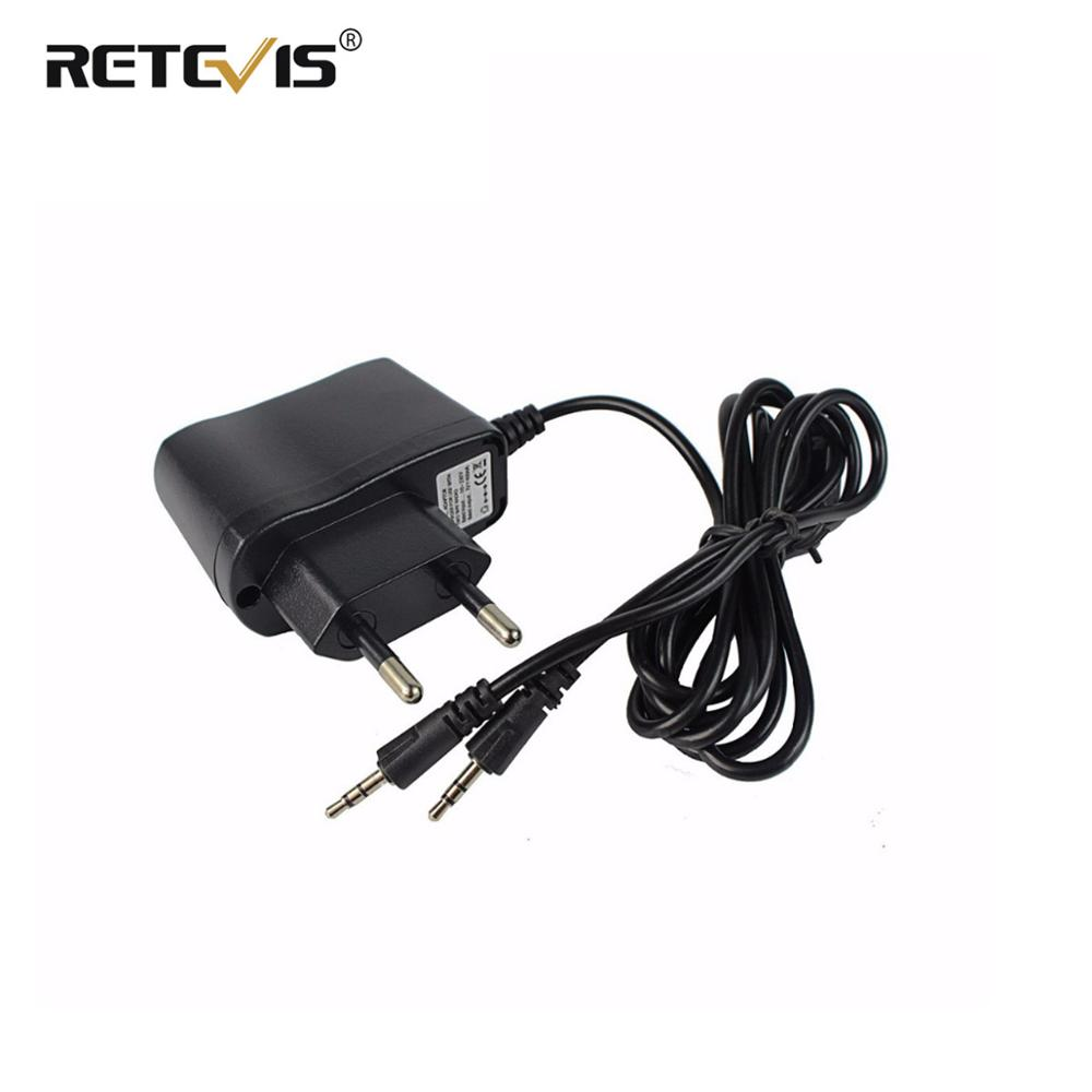 Original 2 In 1 RT388 Adapter Charger For Retevis RT-388 Input 110-240V Output 5V 1A Walkie Talkie Charger J7027C