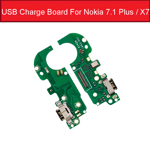 Charger USB Jack Board For Nokia 2 2.1 3 3.1 Plus 5 5.1 6 6.1 7 7.1 Plus 8 Charging USB Port Board Module Replacement Parts Lahore