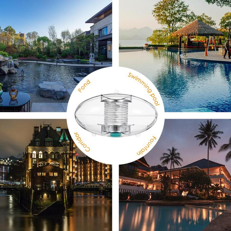 Colorful LED Underwater Solar Light Swimming Pool Floating Decorative Lamp