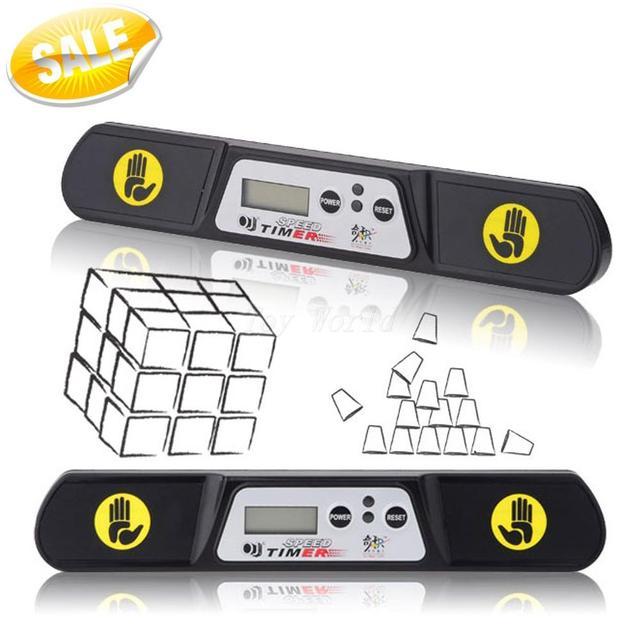 QJ V3 Máquina del Tiempo Velocidad Cubo Mágico 2x2x2 3x3x3 4x4x4 Megaminx Timer Competencia (Nueva Edición)