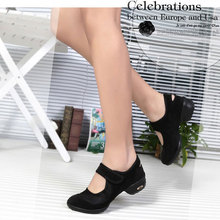 2017 Plus Size Sports Outsole Breath Latin Dance Shoes Sneakers For Woman Modern Dance Jazz Shoes zapatos de baile latino mujer цена и фото
