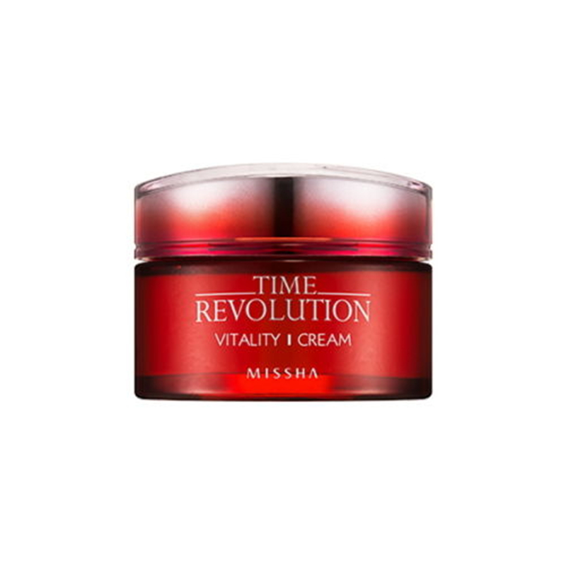 Missha Time Revolution Vitality Cream 50ml Korea Face Cream Wrinkle Remove Anti Aging Wrinkle Firming Skin Facial Cream missha bb 50ml