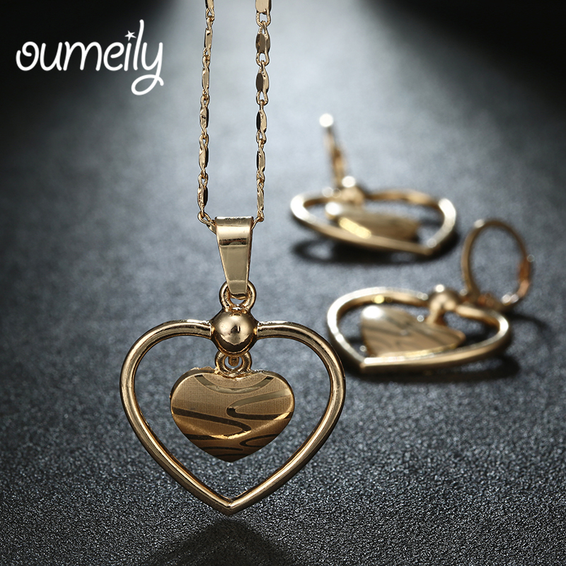 OUMEILY Gold Plated African...