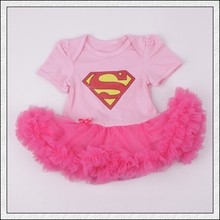 2017 Baby Girls clothes Newborn baby romper Short sleeve outfits  Infant lace Tutu dress Jumpsuit fashion