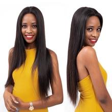 Amanda Brazilian Hair Weave Bundles Straight 100% Human Hair 3/4 Bundles Deals Remy Hair Extensions Free Shipping 8-28 Inches