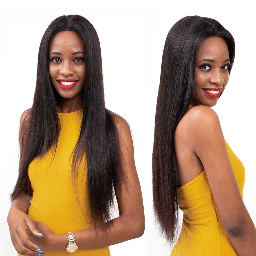 Paquetes de armadura de cabello brasileño recto Amanda M Remy 100% cabello humano 3/4 paquetes ofertas extensiones de cabello 8-28 pulgadas