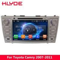 KLYDE 4G Восьмиядерный 4G B Оперативная память 32 ГБ Встроенная память Android 8,0 7,1 DVD мультимедиа плеер радио для Toyota camry 2007 2008 2009 2010 2011