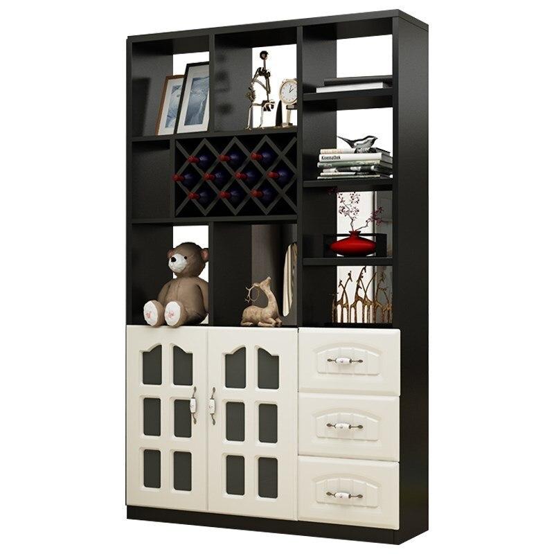 Rack Kast Display Shelves Salon Meja Gabinete Cristaleira Vetrinetta Da Esposizione Commercial Furniture Mueble Bar Wine Cabinet