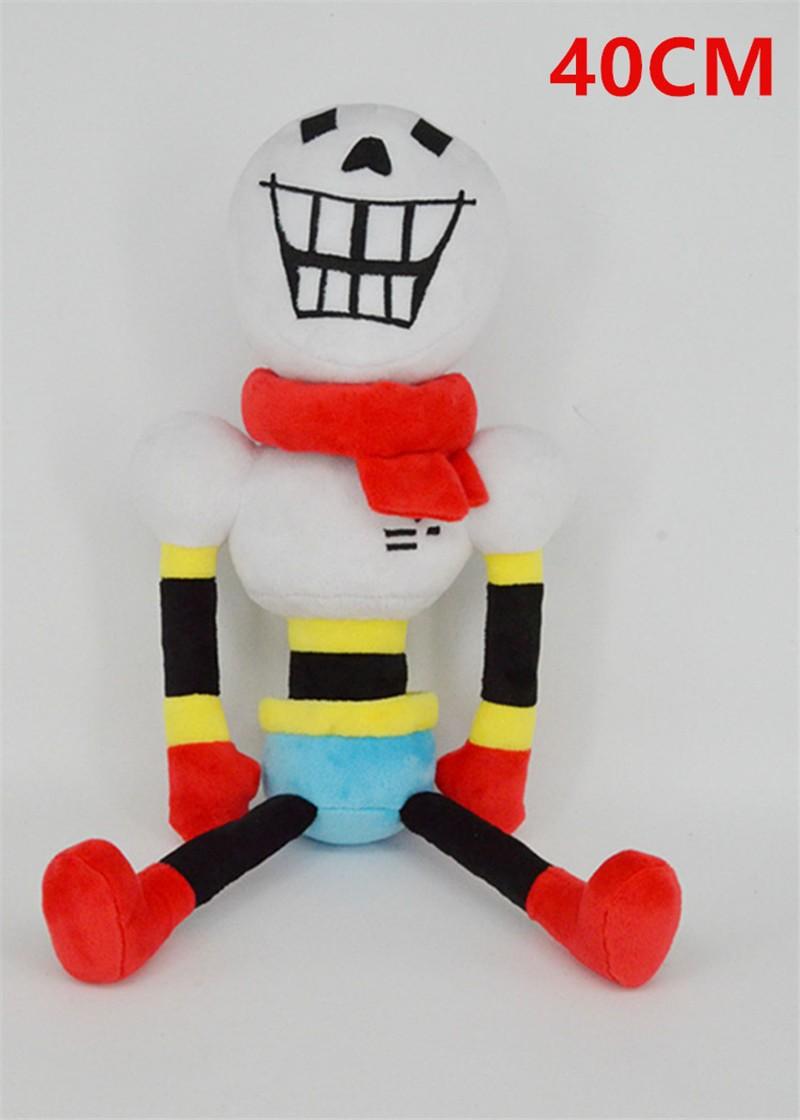 Undertale Plush Toys Sans Papyrus Undyne Alphys MTT Flower Miss Spider Peluche Dolls Brinquedos Kids Gift 30cm12 (6)