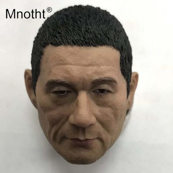 Kitano Takeshi Head Sculpt 1/6 Scale Resin Male Soldier Head Carving for Action Figure Toys Collection Japanese Model Mnotht image