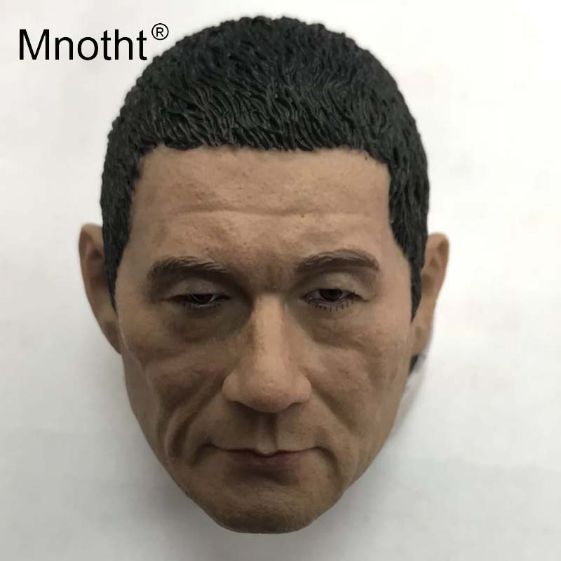 Kitano Takeshi Head Sculpt 1/6 Scale Resin Male Soldier Head Carving for Action Figure Toys Collection Japanese Model Mnotht steampunk loft 4 color iron water pipe retro wall lamp vintage e27 e26 sconce lights for living room bedroom restaurant bar