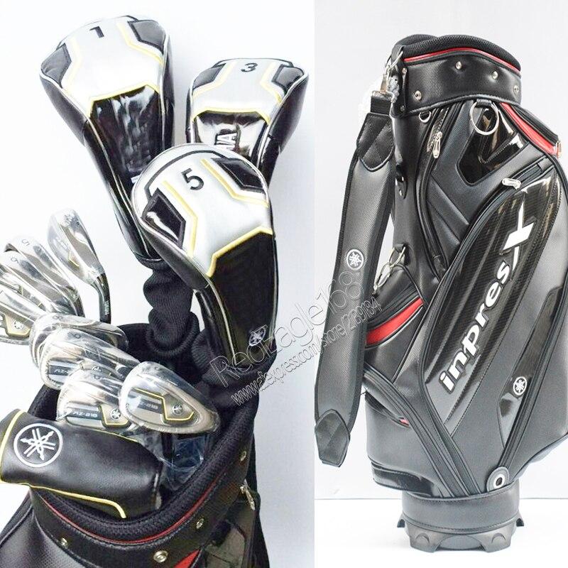Cooyute Nuevos mens AZ-218 Compelete conjunto de palos de Golf clubs conductor +