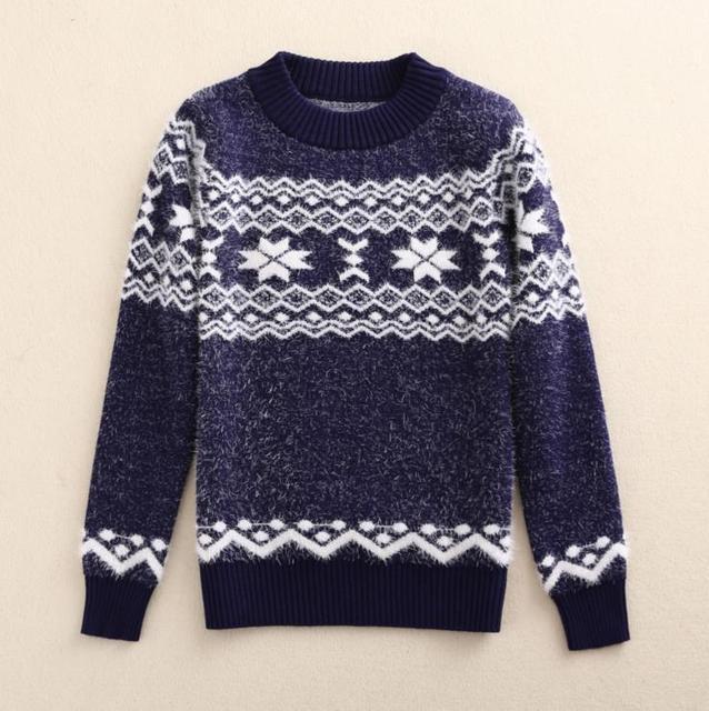 Nuevos Niños Suéteres de Otoño Invierno 2016 Gruesa Caliente Desgaste 3-8Y Niños Sweaters Niños Jerseys Niños Jumper AS-1524