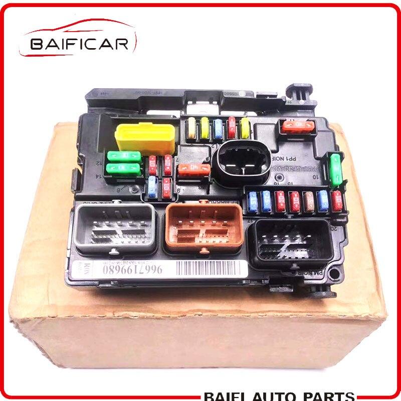 Original peugeot caja de fusibles central electrónica 207//cc//SW 6500.hw