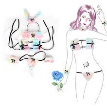 Women Erotic Sexy Lingerie Open Bra Crotch Babydoll Sleepwear Sex Toys for Women Exotic App