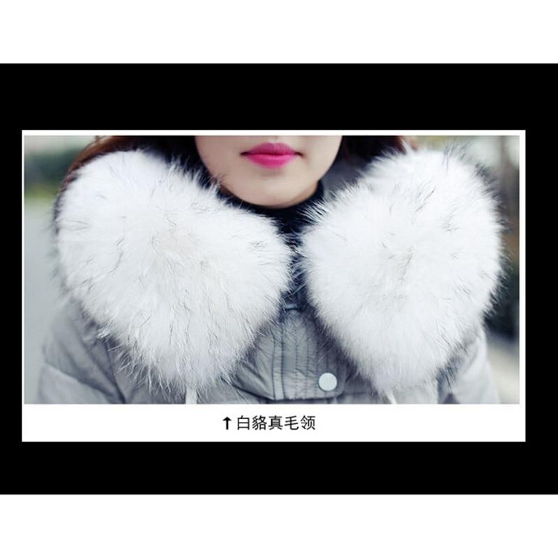 Damski dół kurtki zimowy płaszcz pogrubienie w ciąży płaszcz - Ciąża i macierzyństwo - Zdjęcie 5