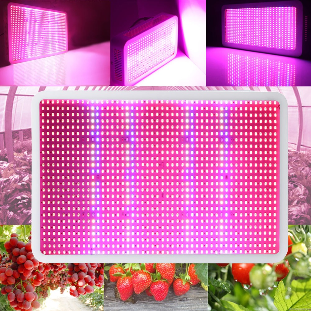 Full Spectrum LED Grow Lights 1200W 800W 600W 400W Plant Growing lamps 410-730nm UV IR Red Blue Hydroponics For indoor plants new 8 band 50w 100w 50 2w grow light led chip full spectrum led red blue uv ir white for indoor plant seeding growing flower