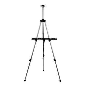 Aluminum Easels CONDA-Tall Collapsible Light Weight Adjustable Easel for Painting Drawing Artistic Folding Easel-155cm&carry Bag - DISCOUNT ITEM  15% OFF All Category