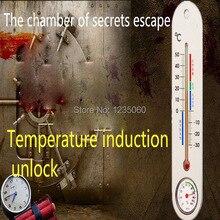 Escaperoom игровые реквизиты человека секреты побег реквизит для разблокировки температуры органов номер побег камерный реквизит Приключения ...