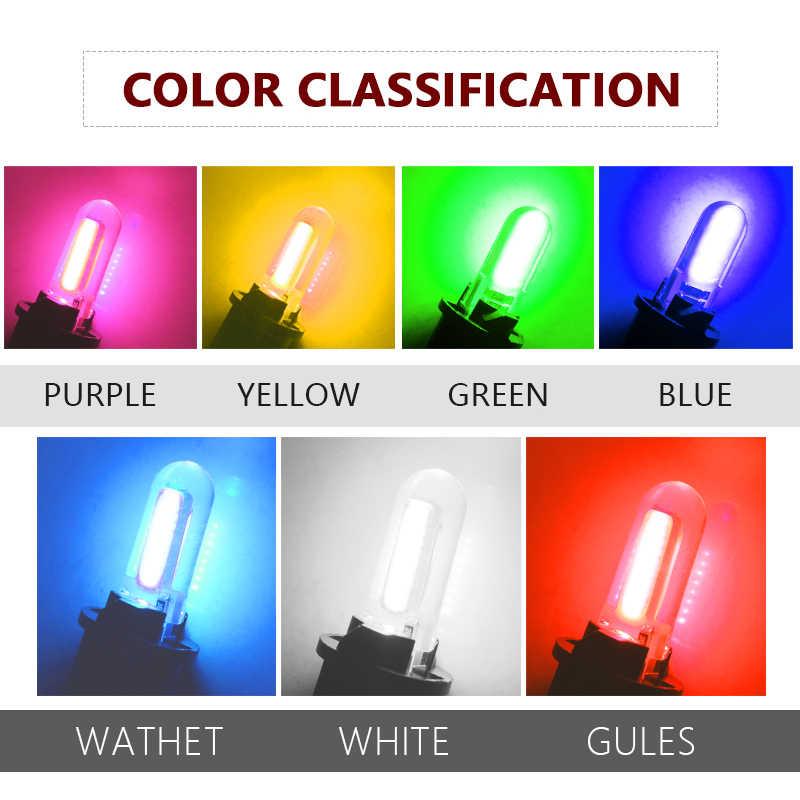 1 Pcs T10 Tongkol LED Mobil W5W Light Bulb 12V 12 Interior Lampu 6000 K Putih Clearance Ekor Lampu License LED Plat Mobil Styling
