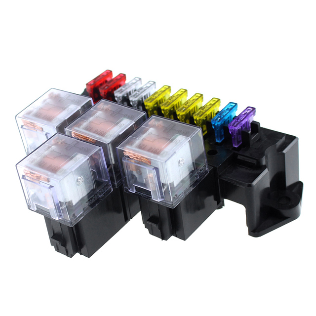 Universal Relay Fuse Box Online Wiring Diagram
