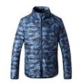 Inverno homens favorece camuflagem para baixo casaco O novo leve 90% plus-size moda pato branco quente para baixo casaco jaqueta livre de shipping