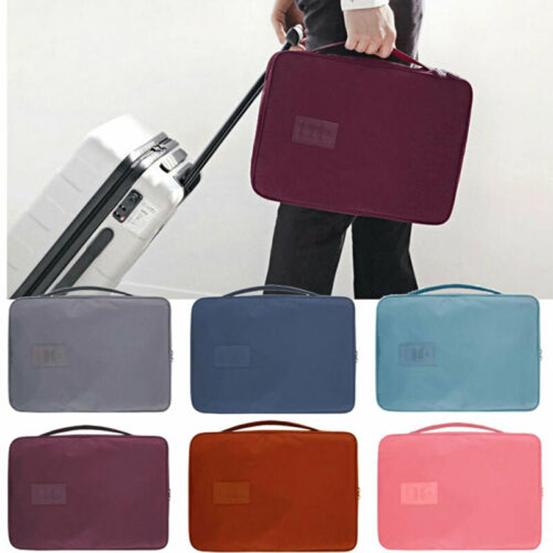 2019 New Brand Fashion Men Travel Portable Shirt Suit Tie Container Bag Business Travel Luggage Case