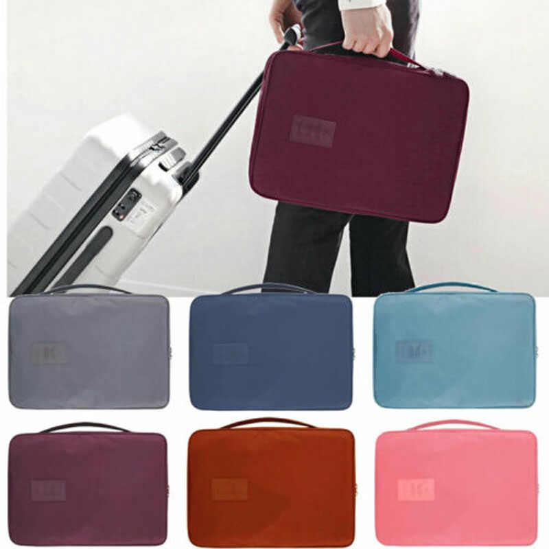 2019 Новый бренд моды Мужчины Путешествия Портативный рубашка костюм галстук Контейнер сумка багаж для деловых поездок чехол
