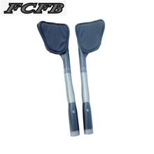 FCFB czarny farby tt rower mat pasek kierownicy kończy się reszta bar tt kierownica pełna węgla reszta kierownica rower górski TT bar FW-RDBI-3 tanie tanio Rowery górskie Rowery szosowe na wycieczkę Chwyty 31 1-32 5mm 401-500mm z włókna węglowego Kierownica szosowa wygięta kierownica