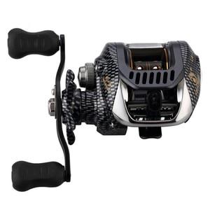Image 1 - 6.3:1 Baitcast moulinet de pêche 13 portant grande ligne capacité léger gaucher droitier appât coulée pêche roue outil