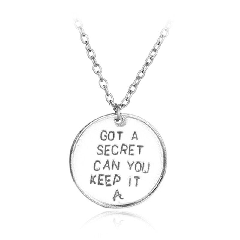 Pretty Little Liars necklace Got A Secret Can You Keep It ...