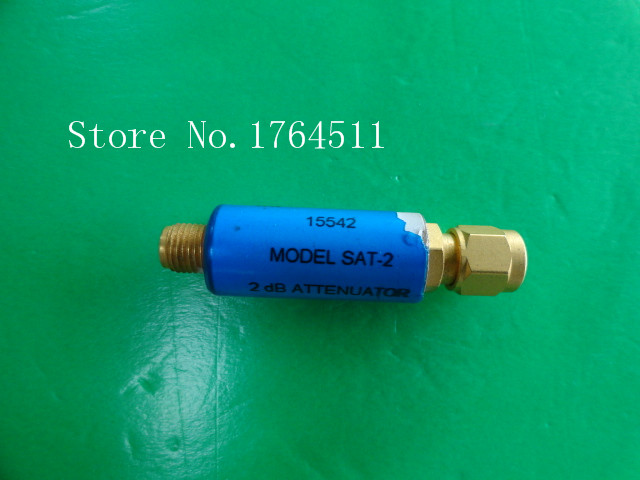 [BELLA] MINI SAT-2 DC-1.5GHz Att:2dB P:2W SMA Coaxial Fixed Attenuator  --5PCS/LOT