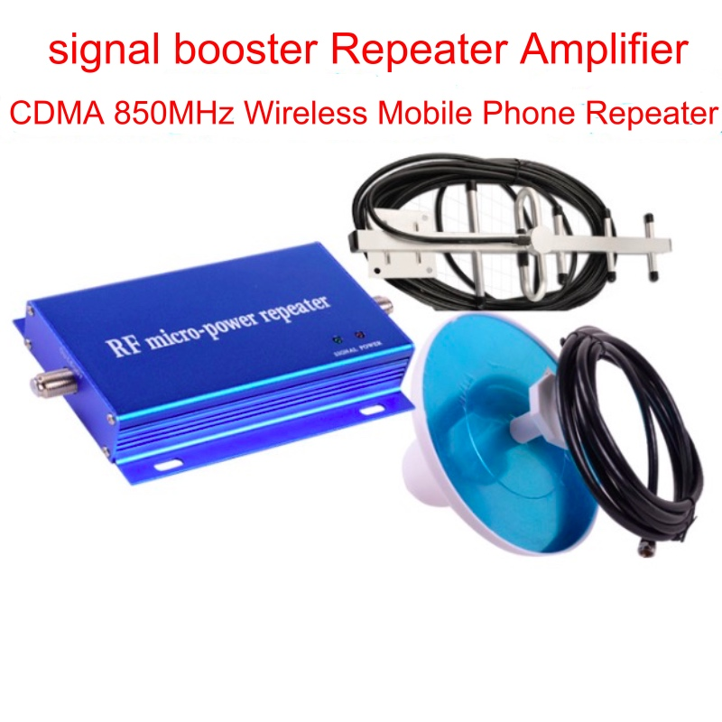Full Set CDMA GSM 850 Cellular Signal Repeater CDMA 850 mhz Mobile Signal Amplifier signal booster