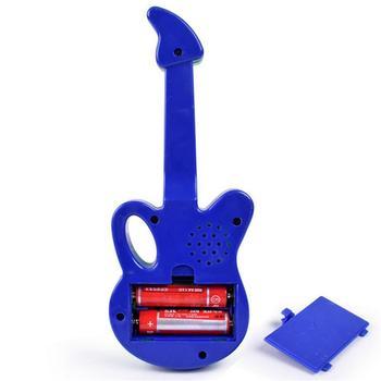 Música Electrónica De Dibujos Animados Multifunción Para Niños Guitarra Bebé Instrumento Musical Juguete 3 Colores Entrega Al Azar