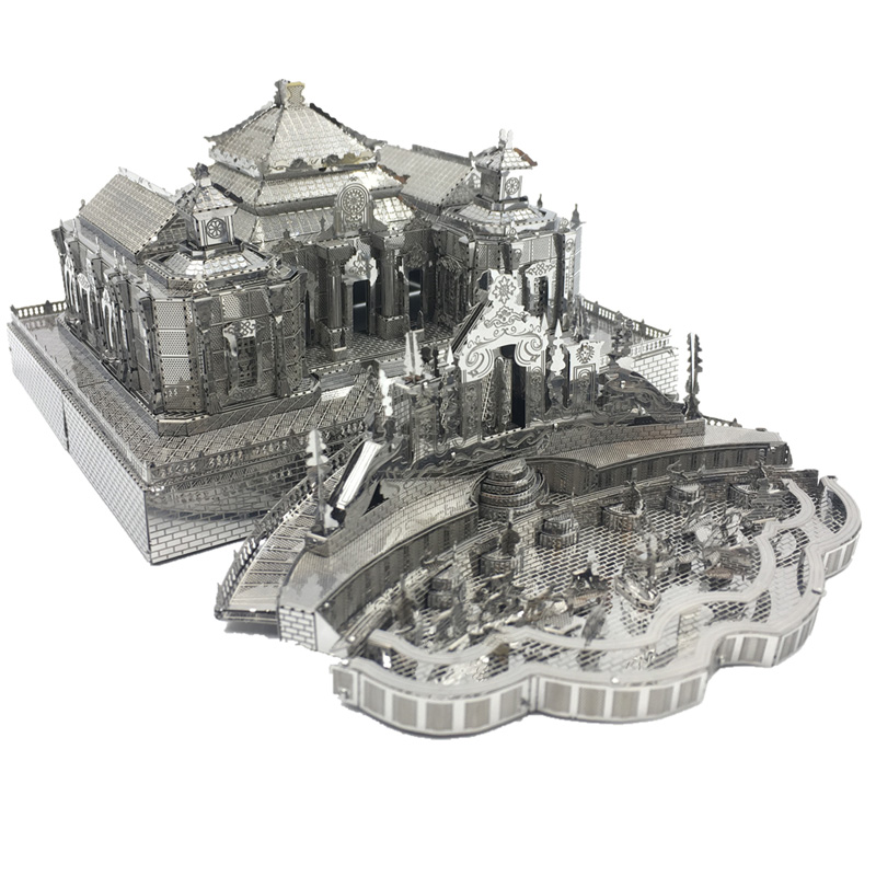 Dashuifa Of Old Summer Palace 3D Metal Model Kits DIY Assemble Puzzle Laser Cut Jigsaw Toy Gift - Customize