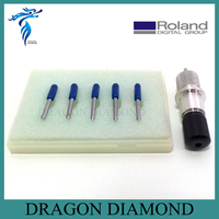 Free Shipping 5 Pcs 60 Degree Roland Cutting Plotter Blade And 1 Pc Roland Vinyl Cutter