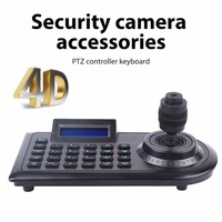 LCD 4D 4 Axis PTZ Surveillance Camera RJ45 DVR Control Keyboard Joystick Controller LCD Screen