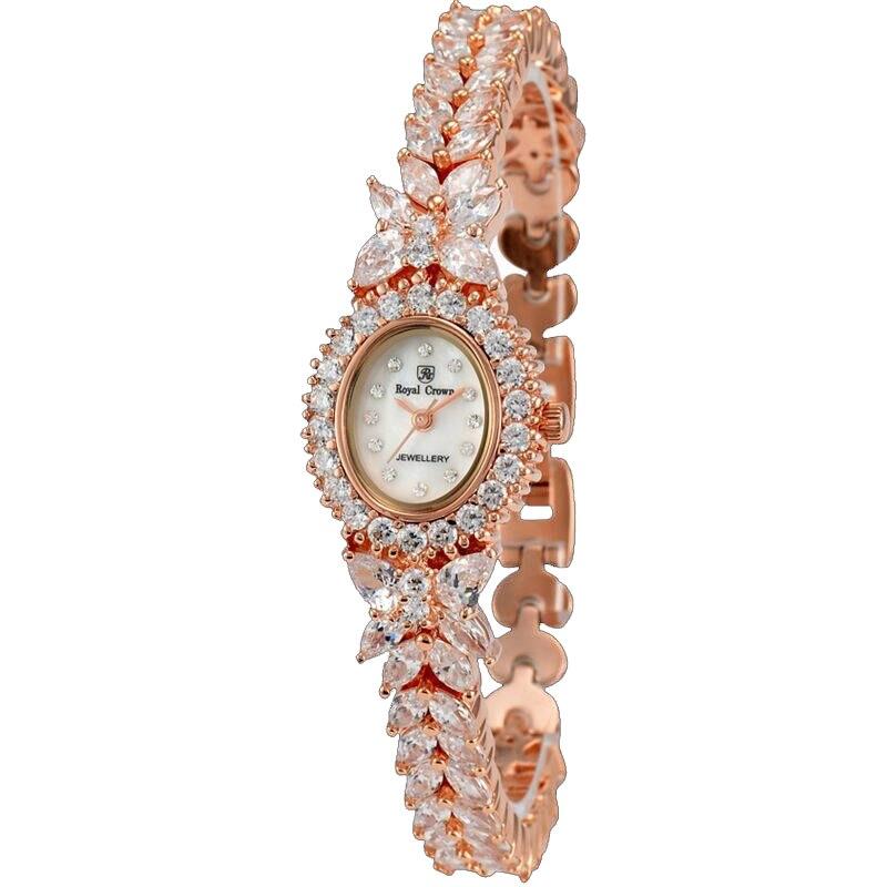 Luxury Jewelry Lady Women s Watch Fashion Clock Crystal Hours Shell Dress Bracelet Rhinestone Girl s