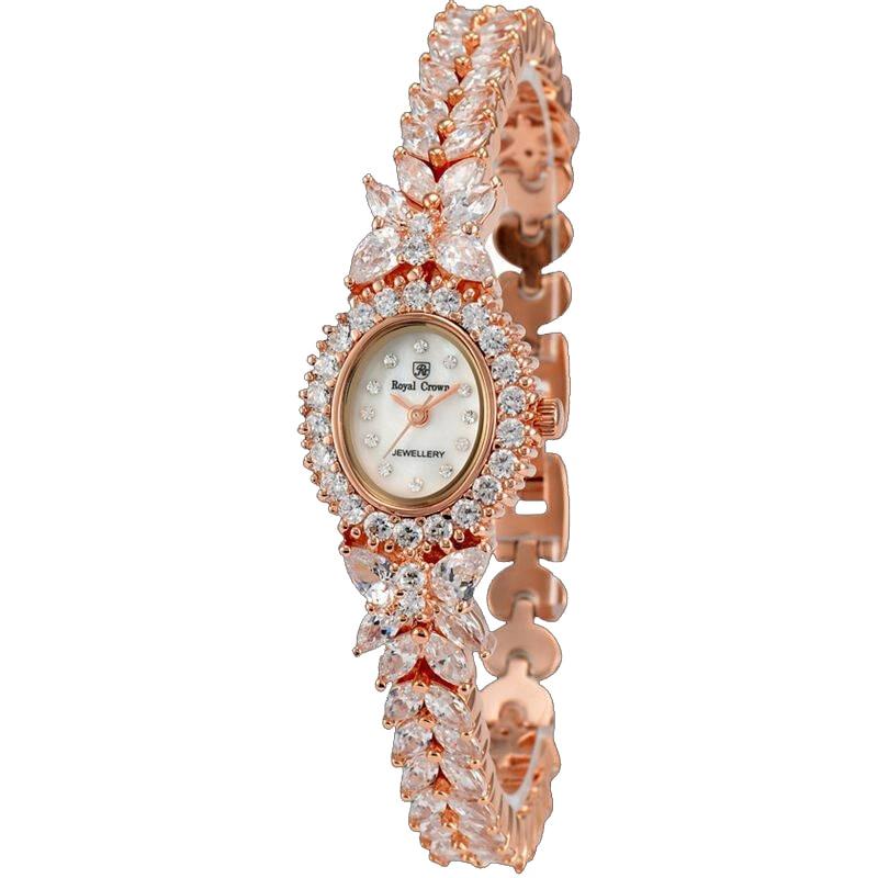 Luxury Jewelry Lady Women's Watch Fashion Clock Crystal Hour