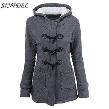 6XL Winter Coat Women Autumn Warm Jackets Hooded Collar Wool Coats Casual Slim Long Parkas Hoodies manteau femme Plus Size