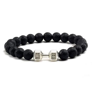 Black Lava Yoga Healin Bracelets5