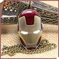 The new cartoon antique Iron man movie necklace sweater chain for kids pocket watch