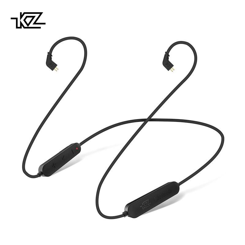 AK KZ inalámbrico Bluetooth Cable KZ módulo de actualización de alambre con 2PIN/conector MMCX para KZ ZS10/ZS6/ ZS5/ZS3/ZST/ZSR/ES4/AS10/BA10/ZSN